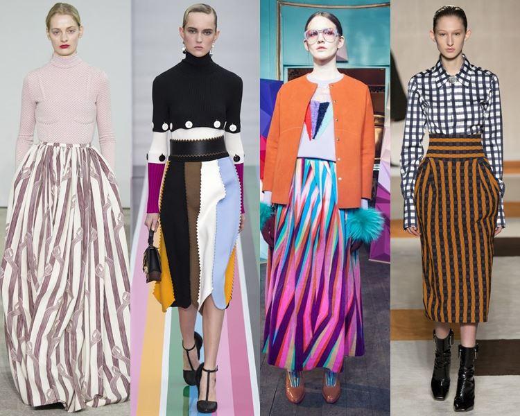 модные юбки осень-зима 2016-2017 тенденции (8)