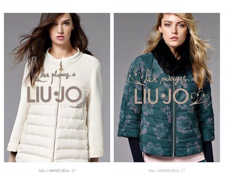 стеганые куртки пуховики Liu Jo осень-зима 2016-2017