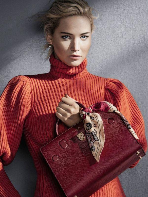Дженнифер Лоуренс Dior 2016 сумки (4)