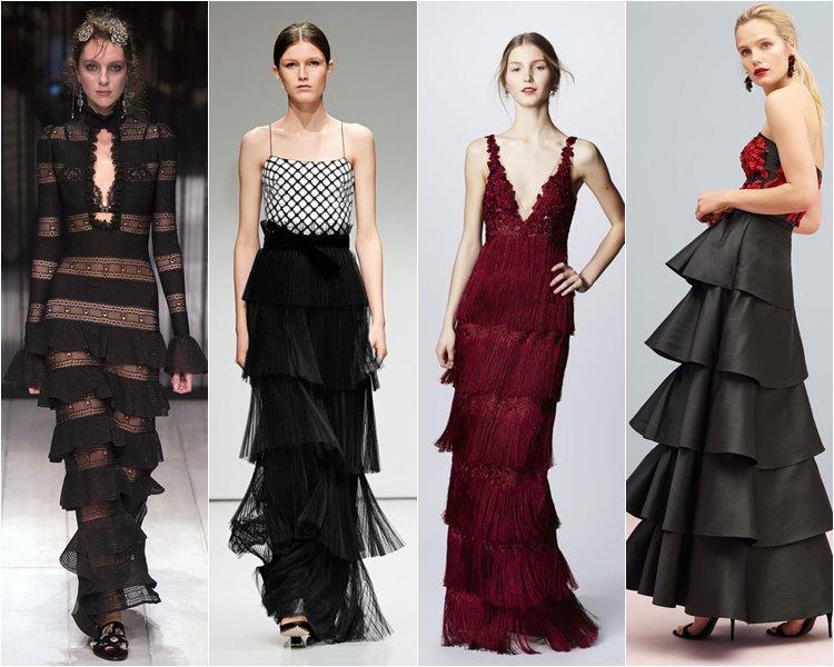 Нарядные модные юбки