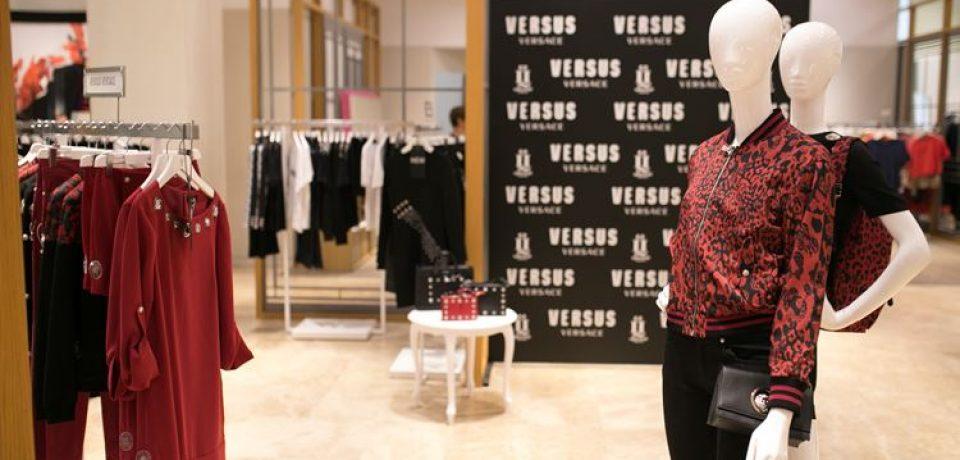 В «Цветном» открылся корнер Versus Versace