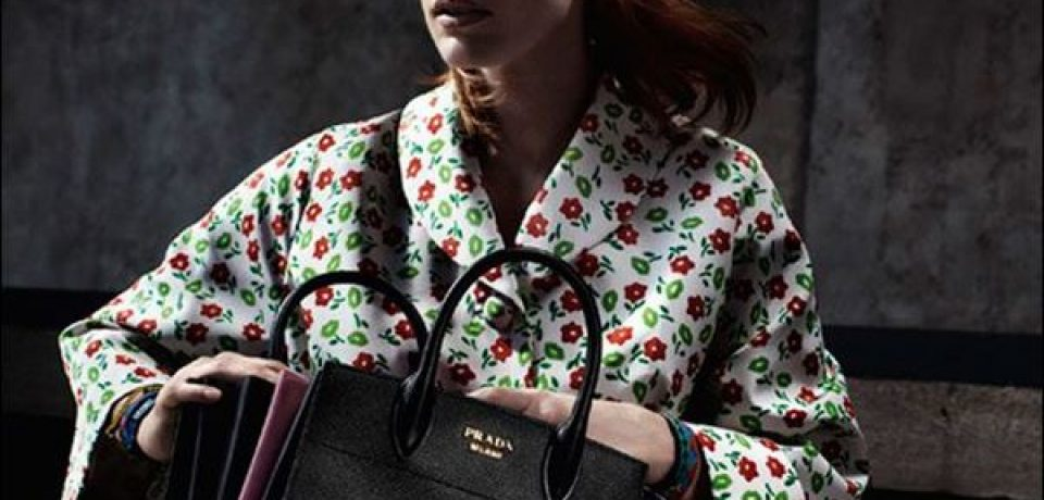 Джессика Честейн в рекламной кампании Prada Resort 2017