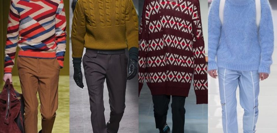 Мужские свитера осень-зима 2016-2017