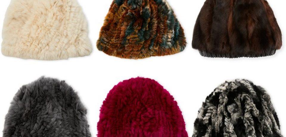 Модные меховые шапки 2017