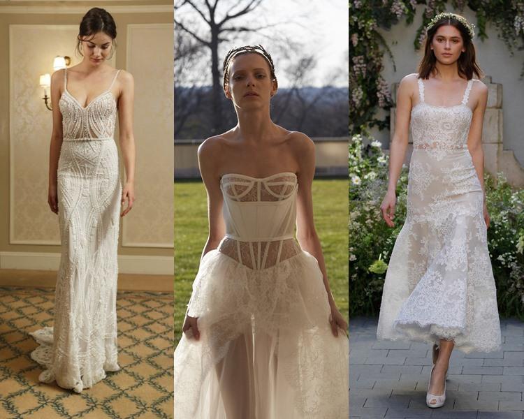 Модные свадебные платья тенденции 2017: бельевой стиль