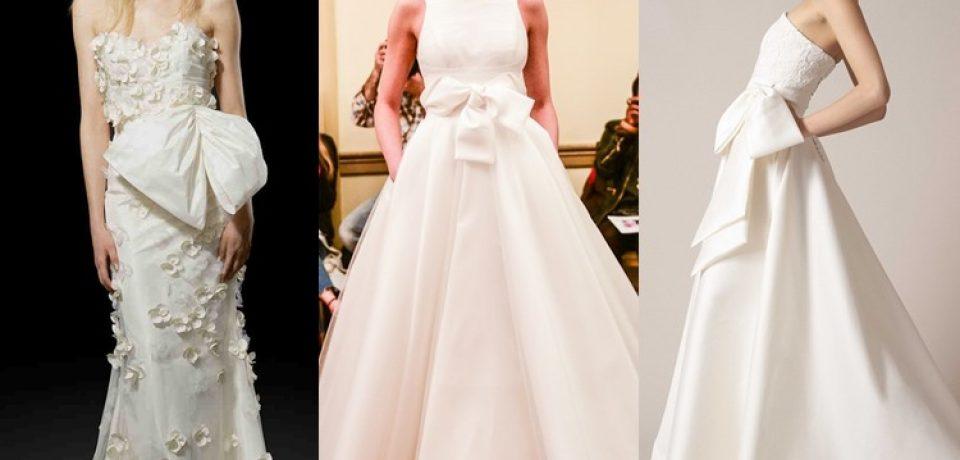 Свадебные платья 2017: тенденции для модной невесты