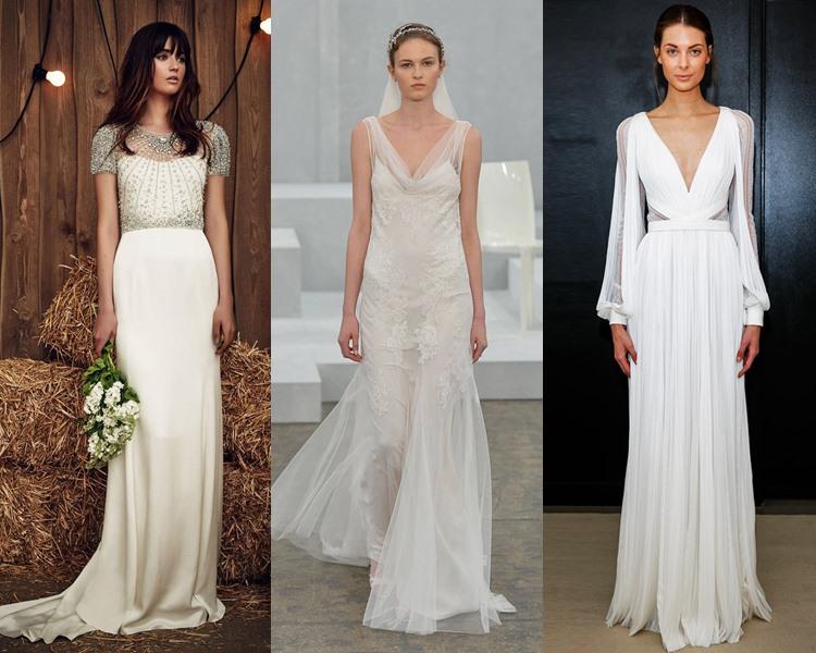 Модные свадебные платья тенденции 2017: греческие