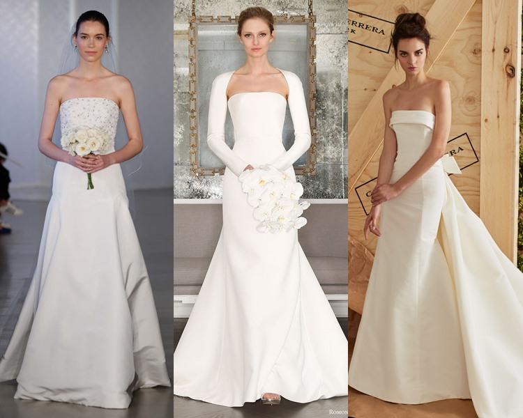 Модные свадебные платья тенденции 2017: элегантность и минимализм