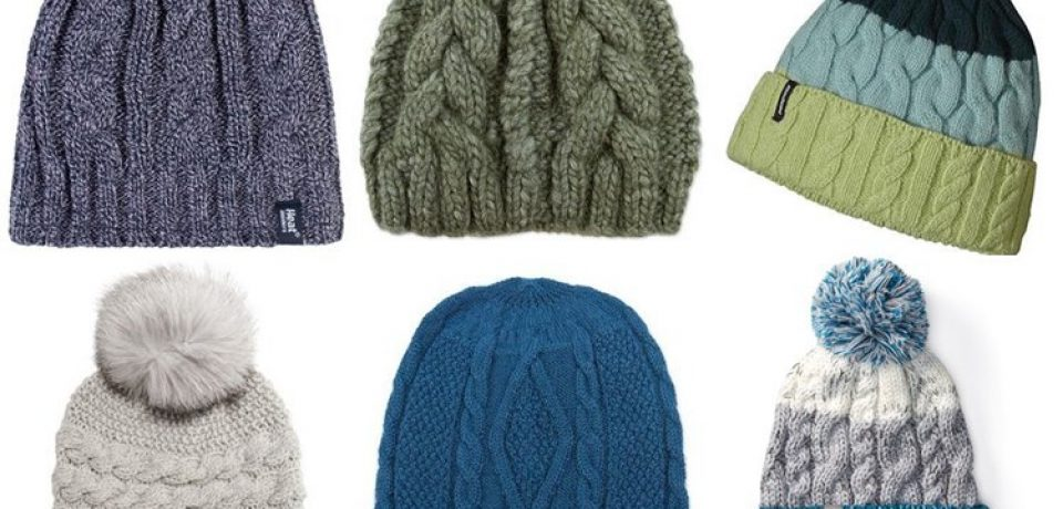 Женские вязаные шапки 2017