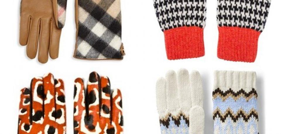 Модные перчатки и варежки 2017