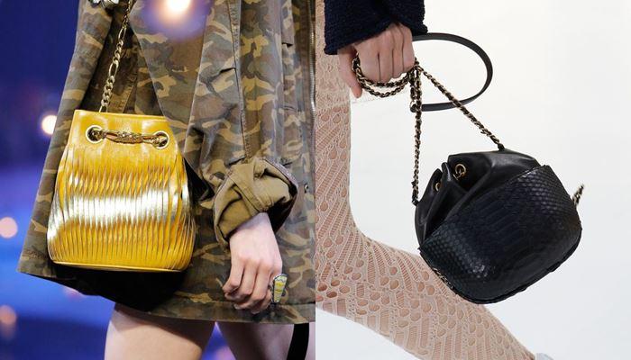 Модные женские сумки весна-лето 2017: маленькие мешкообразные