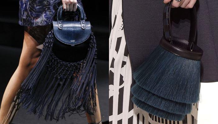 Модные женские сумки весна-лето 2017: длинная бахрома