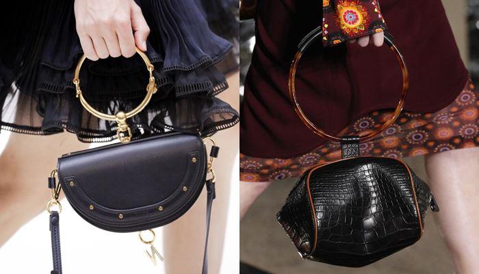 Модные женские сумки весна-лето 2017: круглая ручка