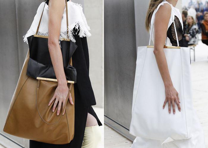 Модные женские сумки весна-лето 2017: вертикальный шоппер