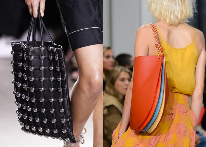 Модные женские сумки весна-лето 2017: большие шоппер