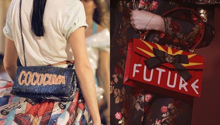 Модные женские сумки весна-лето 2017: с надписями