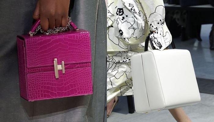 Модные женские сумки весна-лето 2017: форма коробки