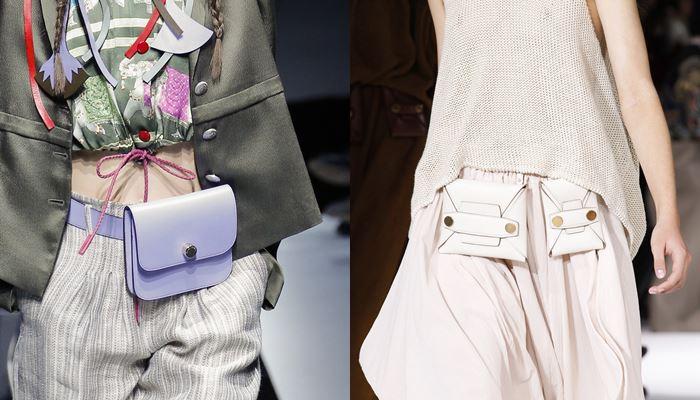 Модные женские сумки весна-лето 2017: на поясе