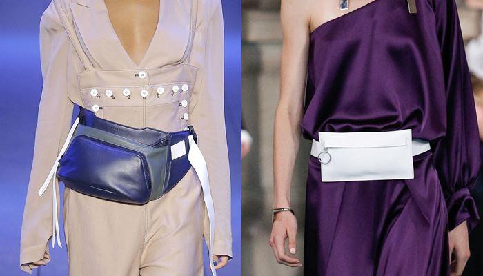 Модные женские сумки весна-лето 2017: поясные