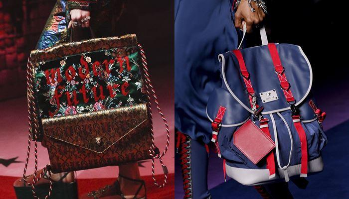 Модные женские сумки весна-лето 2017: маленькие рюкзаки