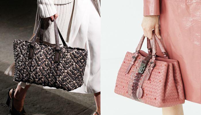 Модные женские сумки весна-лето 2017: плетеные tote