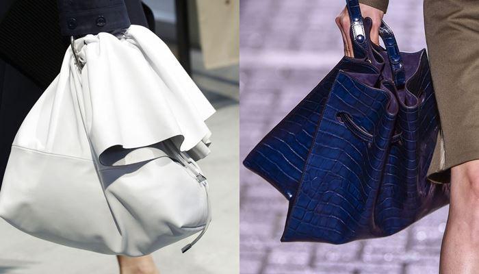 Модные женские сумки весна-лето 2017:  очень большие