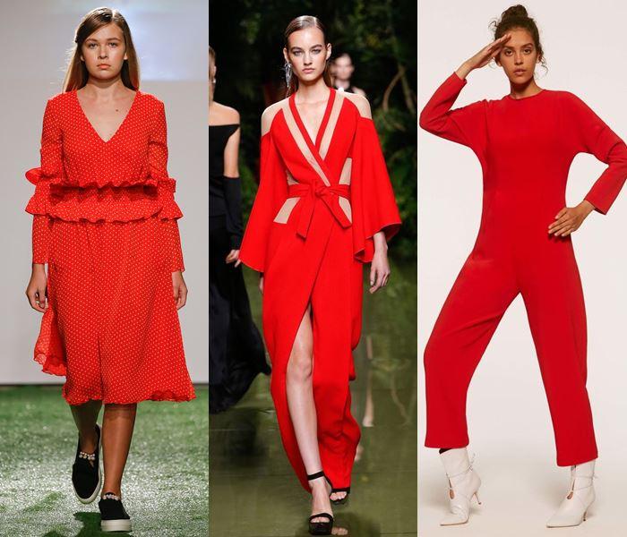 Модные цвета весна-лето 2017: алый