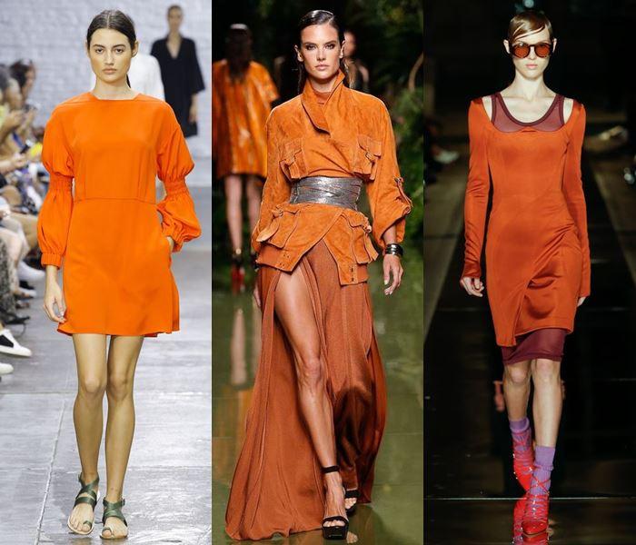 Модные цвета весна-лето 2017: сочный оранжевый тыквенный