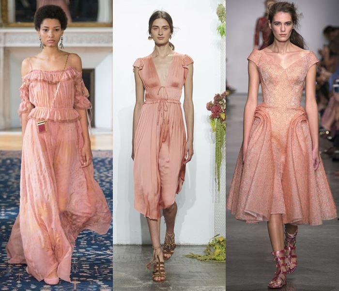 Модные цвета весна-лето 2017: бледный розово-коралловый