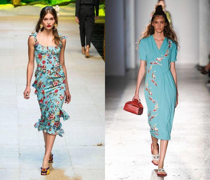 Модные цвета весна-лето 2017: светлый бирюзовый