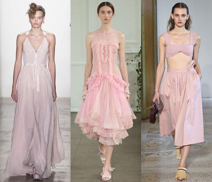 Модные цвета весна-лето 2017: пастельный розовый