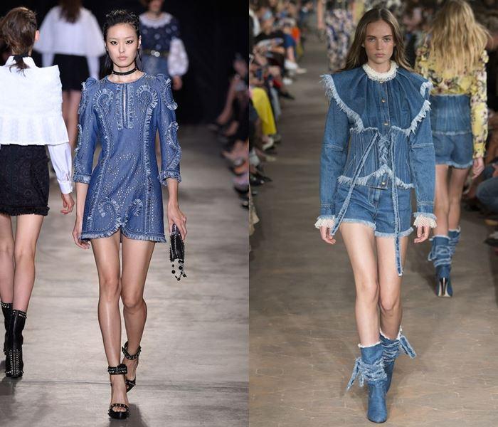 Модные цвета весна-лето 2017: джинсовый