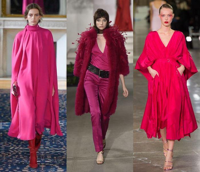 Модные цвета весна-лето 2017: яркая фуксия