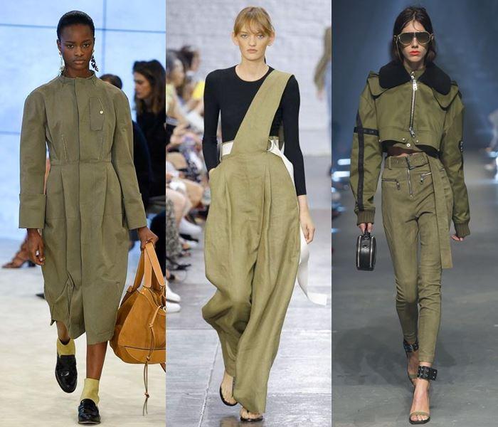 Модные цвета весна-лето 2017: болотный хаки
