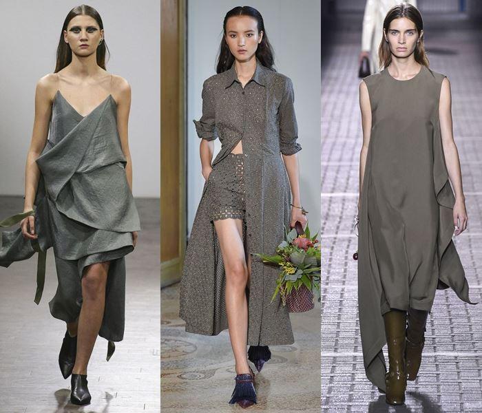 Модные цвета весна-лето 2017: классический серый