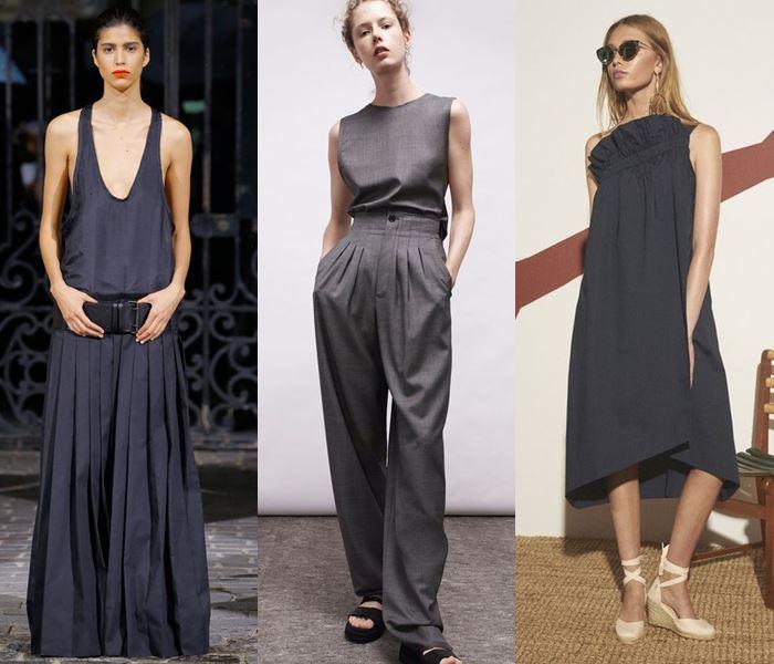 Модные цвета весна-лето 2017: графитовый серый