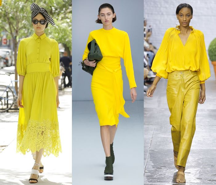 Модные цвета весна-лето 2017: канареечный жёлтый