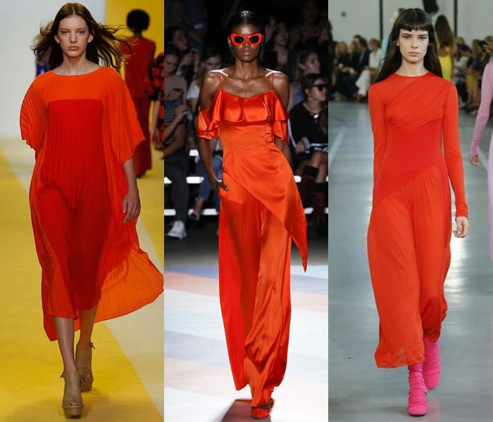 Модные цвета весна-лето 2017: томатно-красный