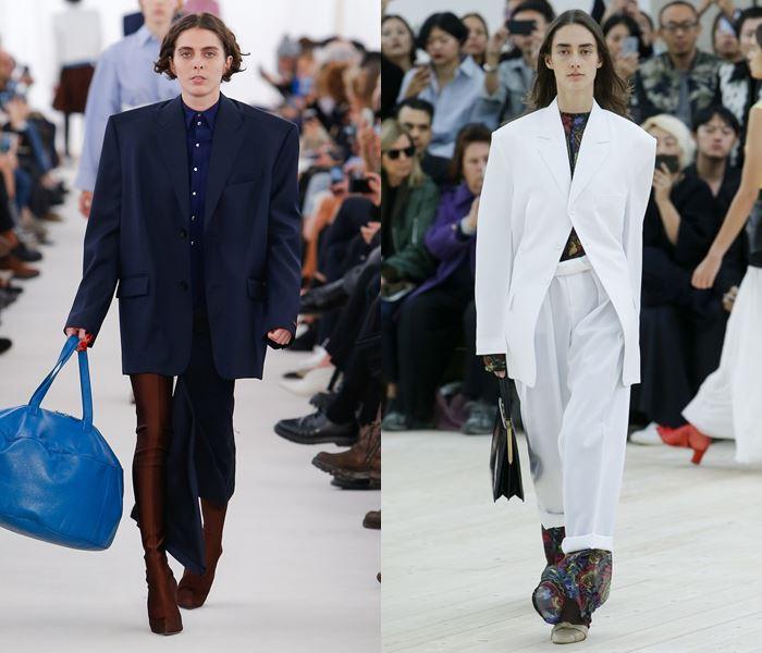 Тенденции моды весна-лето 2017: пиджаки и широкими плечами