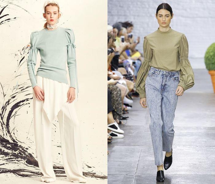 Тенденции моды весна-лето 2017: оригинальные рукава