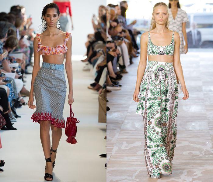 Тенденции моды весна-лето 2017: лифы топы