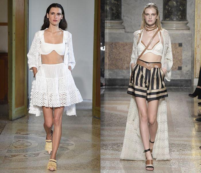 Тенденции моды весна-лето 2017: лифы напоказ