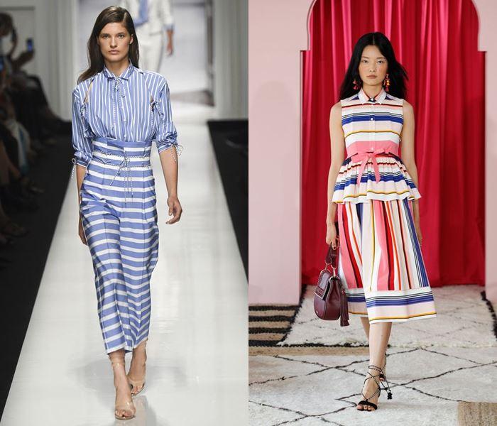 Тенденции моды весна-лето 2017: цветная полоска