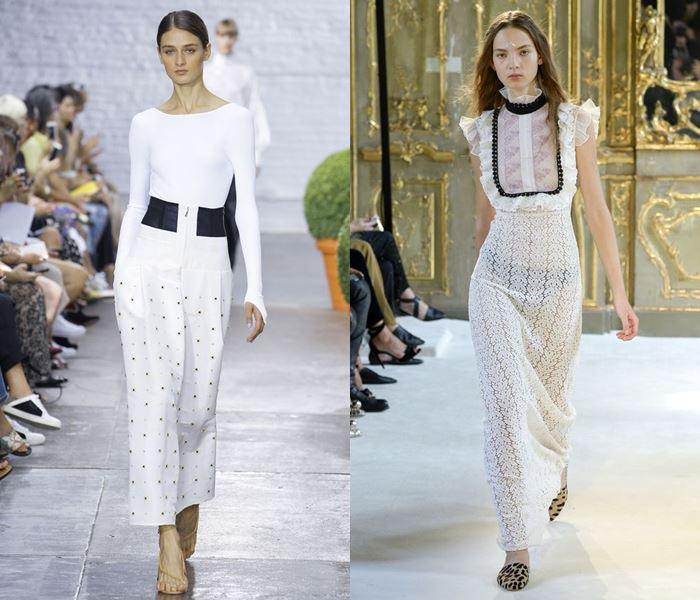 Тенденции моды весна-лето 2017: белые летние платья