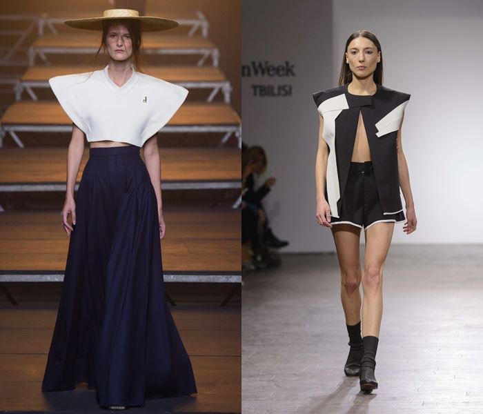 Тенденции моды весна-лето 2017: широкие плечи