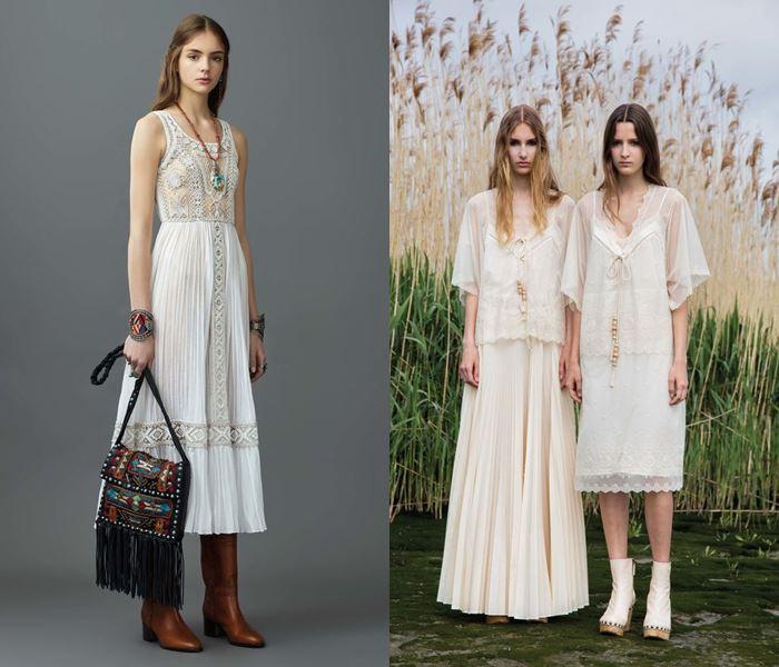 Тенденции моды весна-лето 2017: светлые летние платья