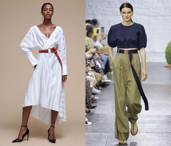 Тенденции моды весна-лето 2017: одежда с ремнями