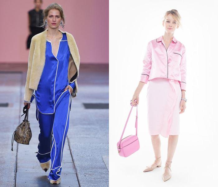 Тенденции моды весна-лето 2017: пижамные костюмы