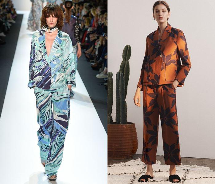 Тенденции моды весна-лето 2017: пижамные брючные костюмы