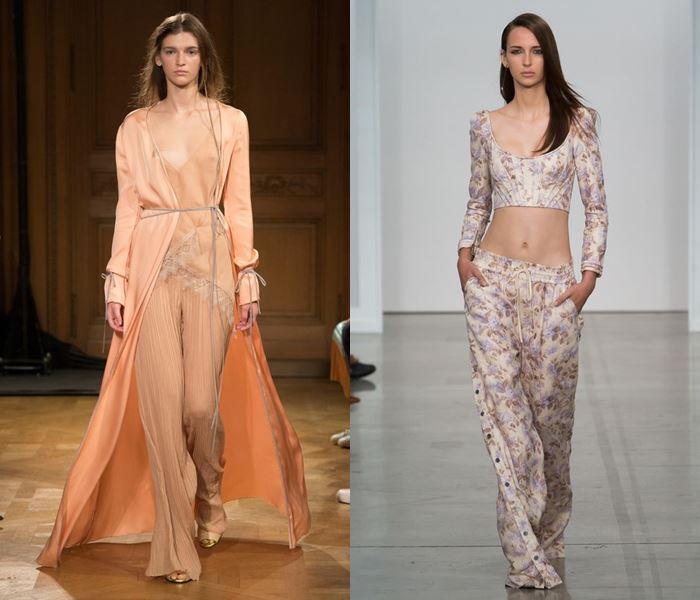 Тенденции моды весна-лето 2017:  пижамы и ночные рубашки